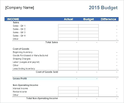 Excel Templates For Business Budget Template Free L Fo Ramauto Co