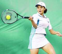 the hindu sania breezes past olena