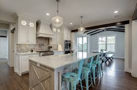 country kitchens interiors by color