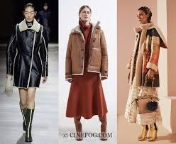 outerwear fall winter 2017 2018 fashion trends shearling coats