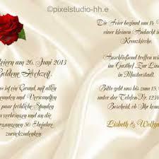 Nice Spruche Goldene Hochzeit Einladung 3 Goldhochzeit Karte