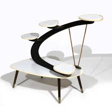 modern side tables. Mid-Century Modern Side Table For Flowers, 1950s Tables M
