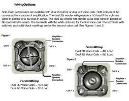 kicker l7 subwoofer wiring diagram wiring solutions Dual 2 Ohm Sub Wiring at Kicker L7 15 2 Ohm Wiring Diagram