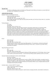 Sample Resume For Warehouse Worker Wlcolombia