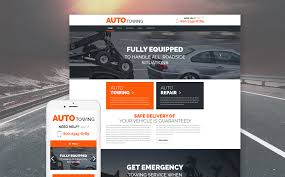 Car Template Tow Truck Service Wordpress Theme