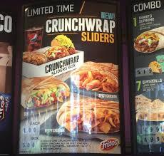 taco bell crunchwrap sliders. Fine Crunchwrap Inside Taco Bell Crunchwrap Sliders S
