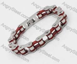 motorcycle chain bracelet kjb750228