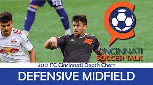Cincy Depth Chart 2017 Fc Cincinnati Depth Chart Defensive Midfield