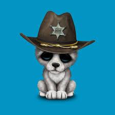 cute baby wolf sheriff cute baby wolf sheriff