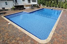 2ft Radius Rectangle Inground Swimming Pools Cannon Pools and Spas