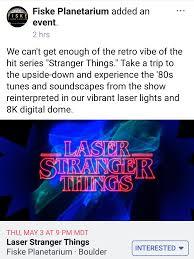 Laser Light Show Colorado Fiske Planetarium In Boulder Colorado Just Announced A