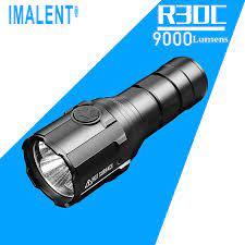 IMALENT R30C EDC LED el feneri 9000 lümen tip c USB taktik el feneri 21700  pil ile avcılık için, arama ve kurtarma|LED Flashlights