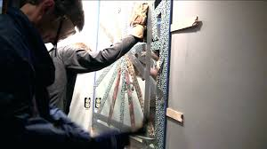 removing mirror from wall projects ideas how to remove wall mirror home decorating a bathroom with