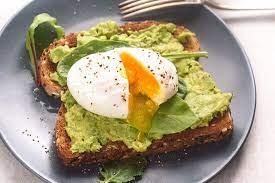 avocado egg poached toast the