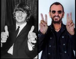 Beatles dummer Ringo Starr at age 79 ...