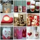 Сделать подарок свечи