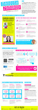 Infographic Technology Resumes Infographic Cv For Journalist