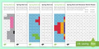 Most of the words use the short vowel sounds. Spring Phase 5 Phonics Mosaic Worksheet Worksheet