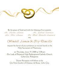 Marriage Invitation Sample Email Amazing Wedding Invitation Letter Weddin Invitation Card Pinterest