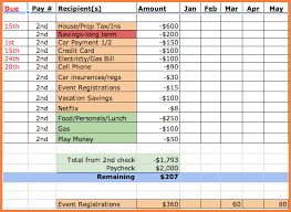 Best Simple Budget Template Monthly-Bill-Spreadsheet-Template ...