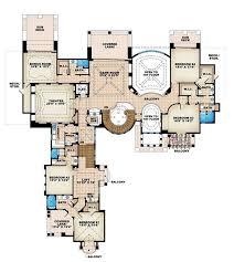 floor plan second story of luxury plan 175 1035