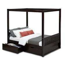 Full Canopy Bed Sunburst Sandy Black Full Metal Canopy Bed Full Size ...