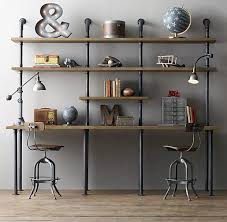home office shelving units. 17 phenomenal industrial home office design ideas shelving units