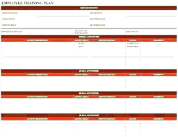 Training Record Sheet Template Training Log Template Employee Free Record Plan Excel