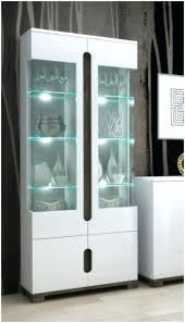white cabinet glass doors curio cabinet with glass door incredible wall units display cabinet with glass