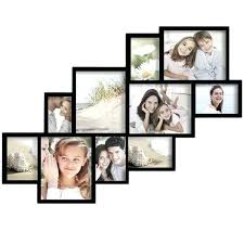 black and white wall collage frames decorative wood hanging picture frame openings cer black collage picture frames