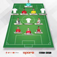 Almanya-Brezilya Sporx İlk11