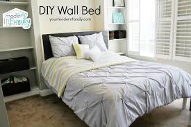 diy wall bed. Wall Bed 1 Diy
