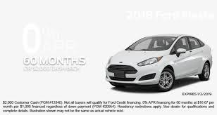 car finance specials