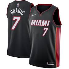 Goran Edition Jersey Icon Swingman - Black Nike Dragic Heat Miami Stay From Lewisville: Greatness Decided Here