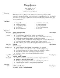 product manager resume sample berathen com product manager resume sample to inspire you how to create a good resume 16