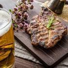 beer grilled pork chops