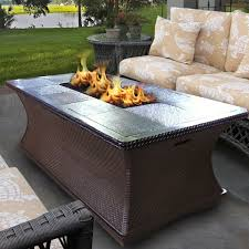Indoor Coffee Table With Fire Pit Endearing Indoor Home Furniture Design Combine Adorable Wooden
