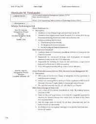 Resume Best Of Resume Templates For Internships Resume Templates
