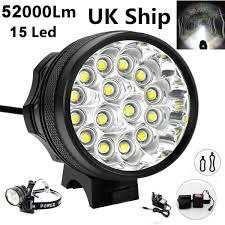 Xml U2 Bike Light Details About 52000lm 15x Led Cree Xml Waterproof T6 Bicycle Bike Light Cycling Headlight Lamp