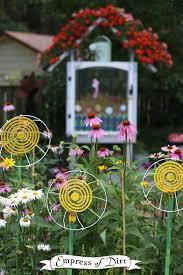 garden art projects. DIY Thrift Shop Garden Art FLOWERS Projects