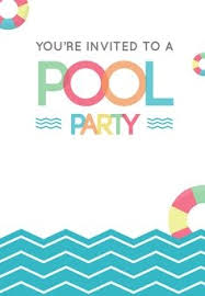 free printable blank pool party invitations. Simple Party Free Printable Pool Party Stuff Invitation Projects To Try  Template Blank Invitations I