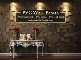 pvc wall panels types its pros cons