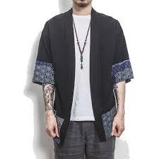 Men's Kimono Shirt <b>2019</b> New <b>Autumn</b> & Spring Men <b>Linen</b> shirt ...