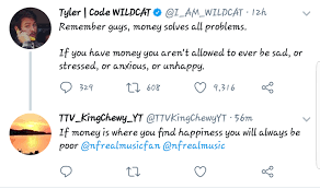 Perfect Quote From Nf And Using It On A Twitter Reply Dont Know