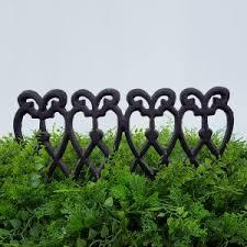 garden hooks. Cast Iron Garden Edge Hooks