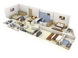 impressive floor plans in 3d