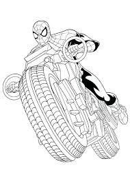 Spiderman Color Book Hoaquanhapkhau Info