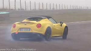 Alfa Romeo 4C Spider Test Drive 2016 10 13