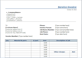 service rendered invoice examples of invoices for services rendered operlying info