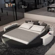 modern king bed. Exellent Modern Rotana Modern King Round Bed Intended